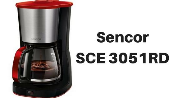 Kávovar Sencor SCE 3051 RD